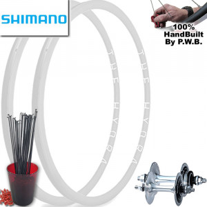 SHIMANO TRACK | SINGLE SPEED WHEEL SET PACKAGE