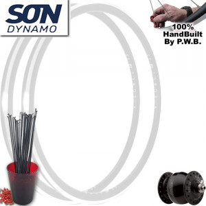 SON DYNAMO ROAD WHEEL SET PACKAGE