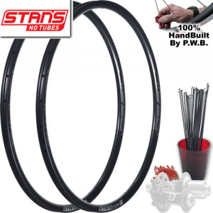 STAN'S NO TUBES ROAD DISC WHEEL SET PACKAGE