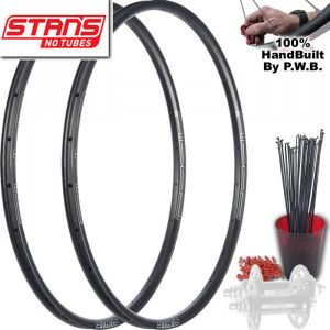 STAN'S NO TUBES TRACK   SINGLE SPEED WHEEL SET PACKAGE