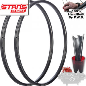 STANS NO TUBES MOUNTAIN BIKE SINGLE SPEED WHEEL SET PACKAGE