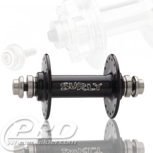 SURLY ULTRA NEW FRONT BLACK HUB