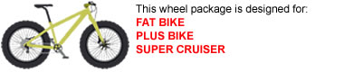 Fat Bike Wheel Package