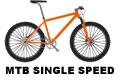 mtb single speed wheel package