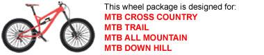 Mountain Bike Wheel Package