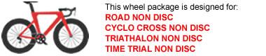 Road Bike Wheel Package