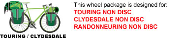 Touring Bike Wheel Package