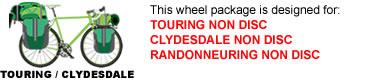 Touring Bike Wheel Package