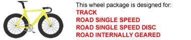 Track Bike Wheel Package