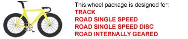 Track Bike Wheel Package