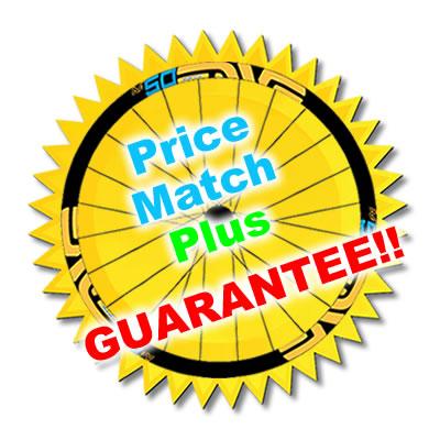 Prowheelbuilder's Price Match Plus Guarantee